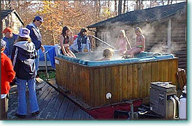 Hot Tubs on Wheels - rent a hot tub - serving Ohio